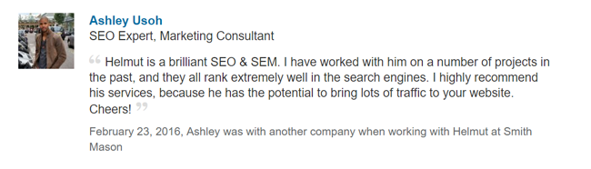 ashley seo expert marketing