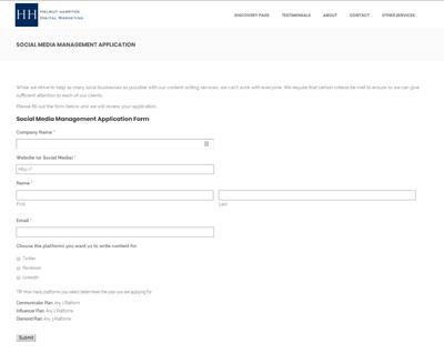 social media management application