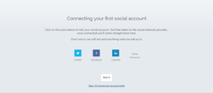connect social media accounts