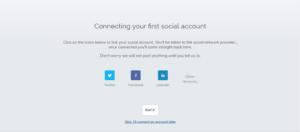 connect social media accounts